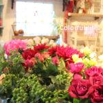 レッスン用花材がたくさん