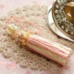 刺しゅう糸のタッセル2