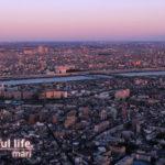 東京スカイツリー展望台から2