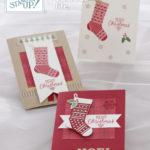 ハング・ユア・ストッキングのクリスマスカード(縦)