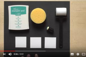 【ペーパーに色付け】スペシャル・デザイナーシリーズ・ペーパー・ファンシーフロストの着色方法