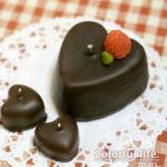 チョコケーキキャンドル