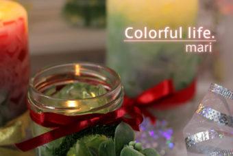 2014年クリスマスジェルキャンドル(ミニリース付き) ご予約開始