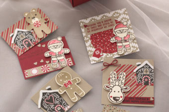 カンタン♪クッキーカッタークリスマスのカード