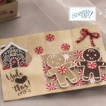 クッキーカッタークリスマス大きめカード
