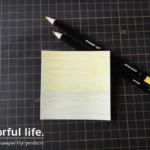 【色塗り】ウォーターカラーペンシルを使った背景の塗り方