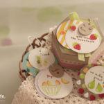 【日程限定 / スタンピン・アップ体験】フルーツ柄のボックス&タグセット