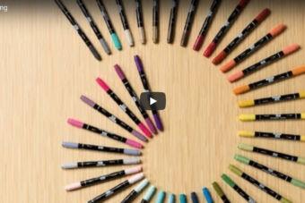 【使い方動画】 Stampin' Write マーカーを使ってスタンプする方法