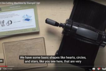 【使い方・製品説明動画】BIG SHOT(ビッグショット)・ダイカットマシンの使い方