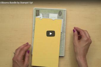 【製品紹介・使い方動画】凝ったカードベースがカンタンに♪ブーケブルーム バンドル