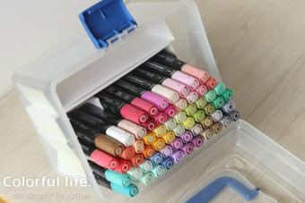 【スタンピンブレンズ】収納に困っていませんか?色選びしやすい収納方法