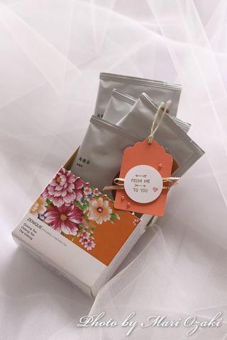 台湾茶とミニタグ