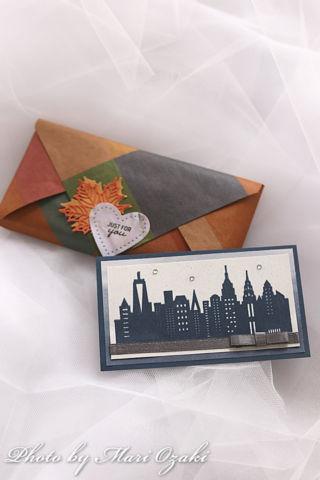 エンベロップパンチボードのパッケージとカード