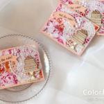 【カンタン・パンチ】ローズいっぱい、ケーキのカード