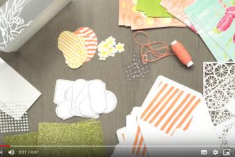 【製品説明・作り方 動画】スタンプにぴったり♪材料がセットになった「プロジェクトキット・インクレディブル・ライク・ユー」