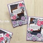 【6/3までの限定品】EVERYTHING IS ROSYで、小花いっぱい大人っぽいカード