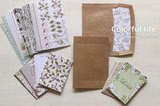 Memories & More カードパック、カード&エンベロップ