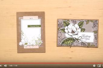 【製品紹介動画】Memories & More・カードパック・マグノリア・レーン