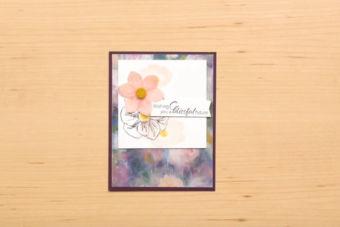 【公式作品 作り方動画】ペレニアル・エッセンス スイートを使ったカード