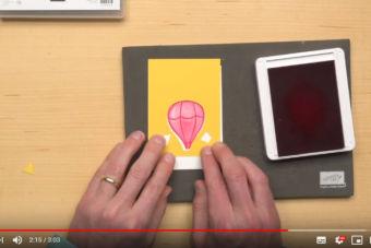 【製品説明・使い方動画】キュートな気球のスタンプとパンチ、アボーブ・ザ・クラウド