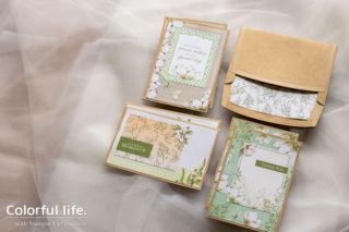 貼るだけでできちゃう、マグノリアのカード(横:Memories & More・カードパック・マグノリア・レーン)