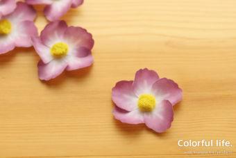 【ワシテープでお花】プレスド・ペタルにひと手間で、ひらっとしたお花の作り方