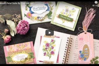 【製品説明 動画】お花のモチーフがステキ♪プレスド・ペタル スイート