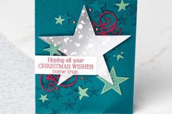 【公式作品 作り方動画】お星さまがいっぱい「ソー・メニー・スター」を使ったカード