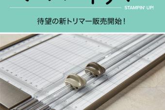 【11/1(金)~】待望の新トリマーが発売となります