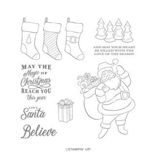 ホリージョリー・クリスマス(スタンプイメージ)