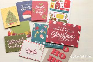 Memories & More・カードパック・ナイト・ビフォー・クリスマス(全種類表面)