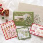 【11月渋谷クラス 使用アイテム紹介】キュートなクリスマスカードセット