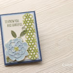 表紙だけのカードを2つ折りカードに♪台紙をカンタンに追加する方法