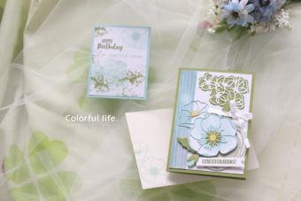 【スタンピン・アップ 2月クラス /渋谷:木曜日】春に贈るお祝いカード