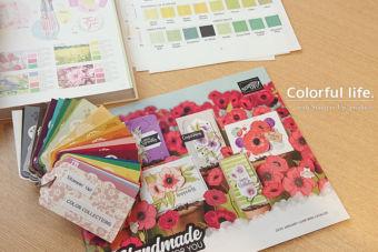【Stamp life.チームミーティング】春の色ってどんな色?