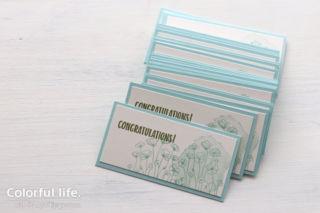 手描きのようなポピーのスマートカード(横:ペインテッドポピー)