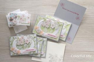 販売用桜のカード(フォーエバー・ブロッサム)