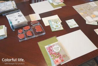 【2月クラス】ご参加ありがとう♪春に贈るお祝いカード