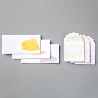 3 X 3インチ(7.6 X 7.6 Cm)・ノートカード&エンベロップ・ベストドレスド(イメージ)