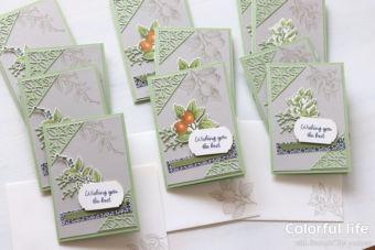 【3/31まで、ほっこり大作戦】お送りしたカードと頂いたカード♪