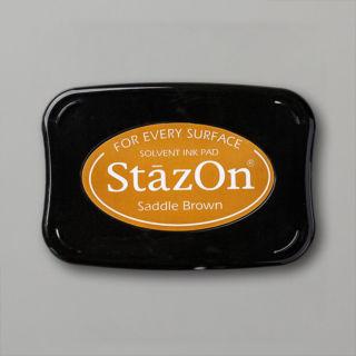 Stazonインクパッド・サドルブラウン(イメージ)