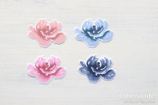 インク3色のと1色の比較(オールシング・ファビュラス)