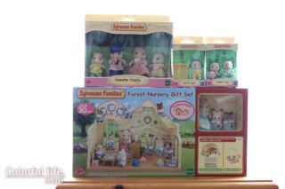 シルバニアファミリー海外版(Forest Nursery Gift Set&Hamster)