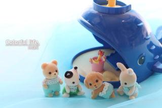 シルバニアファミリー赤ちゃんズ&クジラのすべり台