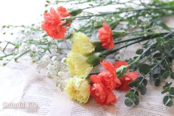 通年のお花が秋色で(お花の定期購入)