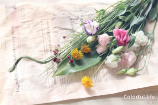お花の定期購入(2020年9月2回目)