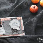 【カンタン・ダイカット】まだ間に合う!小さなパーツを重ねて、ハロウィンのミニカード