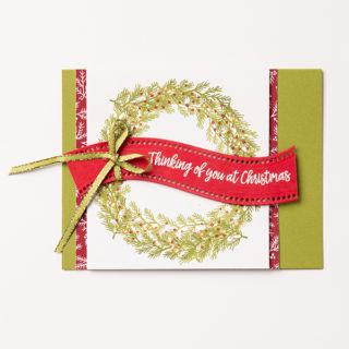 カーヴィー・クリスマス3(スタンピンアップ公式作例)