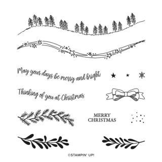 カーヴィー・クリスマス(スタンプイメージ)