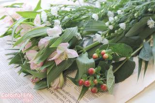 お花の定期購入(11月1回目-1)